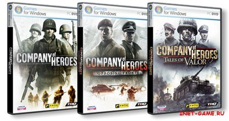 Company of Heroes – Trilogy/Трилогия [L] (RUS/2006/2007/2009)